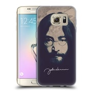 OFFICIAL JOHN LENNON FAN ART Imagine Soft Gel Case for Samsung Galaxy J3 (C_1B6_1ABF3)
