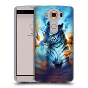 "OFFICIAL JONAS ""JOJOESART"" JODICKE BIG CATS Tiger Fish Soft Gel Case for LG V10 (C_19A_1DBC0)"