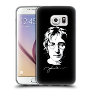 OFFICIAL JOHN LENNON VECTOR Portrait Soft Gel Case for Samsung Galaxy S7