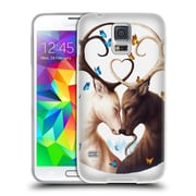 "OFFICIAL JONAS ""JOJOESART"" JODICKE WILDLIFE Circle Of Life Soft Gel Case for Samsung Galaxy S5 / S5 Neo (C_AB_1DBC9)"