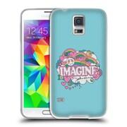 OFFICIAL JOHN LENNON KEY ART Square Collage Soft Gel Case for Samsung Galaxy J3 (C_1B6_1ABE8)