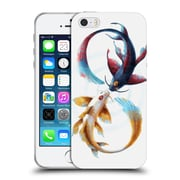 "OFFICIAL JONAS ""JOJOESART"" JODICKE WILDLIFE Eternal Bond Koi Soft Gel Case for Apple iPhone 5 / 5s / SE (C_D_1DBCB)"