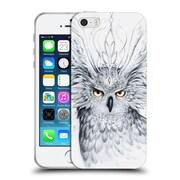 "OFFICIAL JONAS ""JOJOESART"" JODICKE WILDLIFE Owl Soft Gel Case for Apple iPhone 5 / 5s / SE (C_D_1DBD2)"