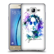 OFFICIAL JOHN LENNON KEY ART Square Collage Soft Gel Case for Samsung Galaxy Grand Prime (C_B5_1ABE8)