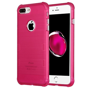 Insten Tuff Rubber Case For Apple iPhone 7 Plus - Hot Pink