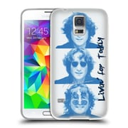 OFFICIAL JOHN LENNON FAN ART Livin' For Today Soft Gel Case for Samsung Galaxy S5 / S5 Neo