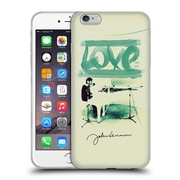 OFFICIAL JOHN LENNON FAN ART Love Soft Gel Case for Apple iPhone 6 Plus / 6s Plus