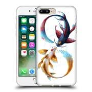 "OFFICIAL JONAS ""JOJOESART"" JODICKE WILDLIFE Eternal Bond Koi Soft Gel Case for Apple iPhone 7 Plus (C_1FA_1DBCB)"