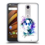 OFFICIAL JOHN LENNON KEY ART Splatter Soft Gel Case for DROID Turbo 2 / X Force