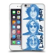OFFICIAL JOHN LENNON FAN ART Livin' For Today Soft Gel Case for Apple iPhone 6 Plus / 6s Plus