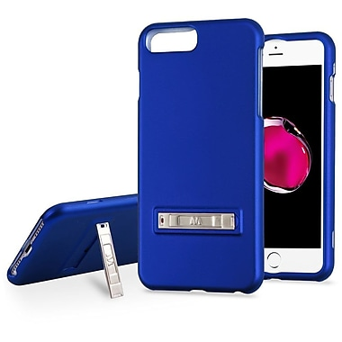 Insten Hard Hybrid Rubberized Silicone Cover Case w/stand For Apple iPhone 7 Plus / 6s Plus / 6 Plus - Blue