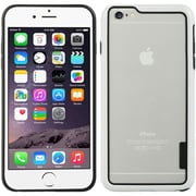 Insten Hard Hybrid Crystal TPU Cover Case for Apple iPhone 6s Plus / 6 Plus - White