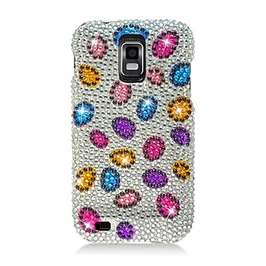 Insten Hard Diamond Cover Case For Samsung Galaxy S2 Hercules - Colorful