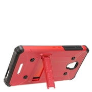 Insten Dual Layer WC8 Hybrid Hard Shockproof Stand Case For Alcatel One Touch Allura / Fierce / Pop 4+ - Red/Black
