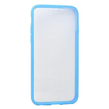 Insten Book Rubber Cover Case For Apple iPhone 6 / 6s - Clear/Blue