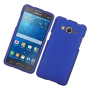 Insten Hard Rubber Cover Case For Samsung Galaxy Grand Prime - Blue