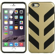 Insten Hard Dual Layer TPU Cover Case for Apple iPhone 6s Plus / 6 Plus - Gold