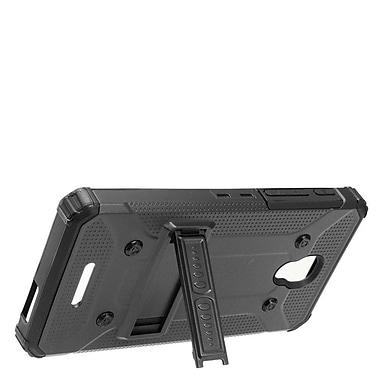 Insten Dual Layer WC8 Hybrid Hard Shockproof Stand Case For Alcatel One Touch Allura / Fierce / Pop 4+ - Black