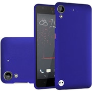 Insten Hard Rubberized Cover Case For HTC Desire 530 - Blue