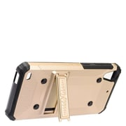 Insten Dual Layer WC8 Hybrid Hard TPU Rubber Shockproof Stand Case Cover For HTC Desire 530 - Gold/Black