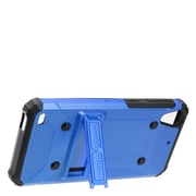 Insten Dual Layer WC8 Hybrid Hard TPU Rubber Shockproof Stand Case Cover For HTC Desire 530 - Blue/Black