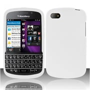 Insten White Silicone Soft Skin Case Cover For Blackberry Q10