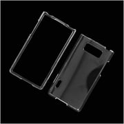 Insten Hard Snap-in Case Cover for LG Splendor US730 / Venice LG730 - Clear