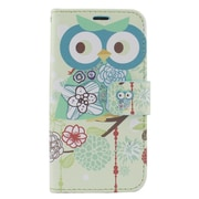 Insten Owl Leather Wallet Case with Card slot & Photo Display For iPhone 6s / 6 - Colorful