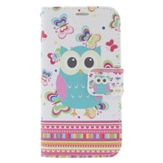 Insten Owl Leather Wallet Case with Photo Display & Card Slot For iPhone 6s / 6 - Colorful