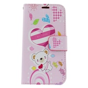 Insten Bear Leather Wallet Case with Photo Display & Card Slot For iPhone 6s / 6 - Colorful