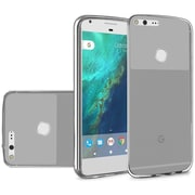 Insten Frosted Gel Cover Case For Google Pixel XL - Smoke