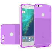 Insten Frosted Gel Case For Google Pixel XL - Purple