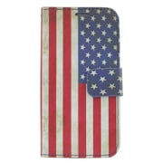 Insten United States National Flag Leather Case with Card holder For iPhone 6s / 6 - Colorful