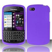 Insten Purple Silicone Soft Skin Case Cover For Blackberry Q10