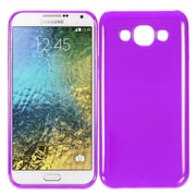 Insten Rubber Case For Samsung Galaxy E5 - Purple