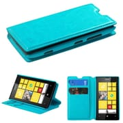 Insten Blue MyJacket Wallet Case Cover with Tray 564 with Package For NOKIA Lumia 520
