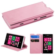 Insten Pink MyJacket Wallet Case Cover with Tray 565 with Package For NOKIA Lumia 521