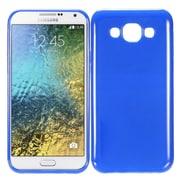 Insten TPU Cover Case For Samsung Galaxy E5 - Blue