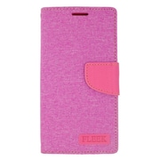 Insten Flip Wallet Leather Case with Card slot & Photo Display For LG Volt 2 - Pink