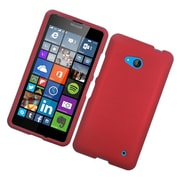 Insten Hard Rubberized Case For Microsoft Lumia 640 - Red