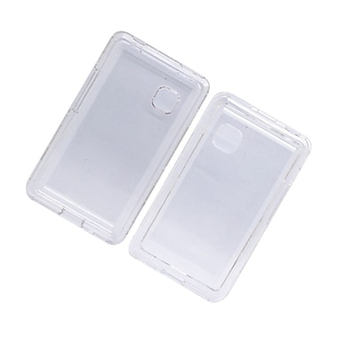 Insten Hard Snap-in Case Cover for LG 840G - Clear