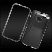 Insten Hard Crystal Case For Motorola Moto E(2nd Gen) - Clear