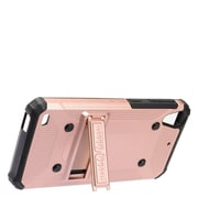 Insten Dual Layer WC8 Hybrid Hard TPU Rubber Shockproof Stand Case Cover For HTC Desire 530 - Rose Gold/Black