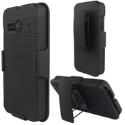 Insten Hard Case w/Holster Stand For Alcatel One Touch Evolve 2 - Black