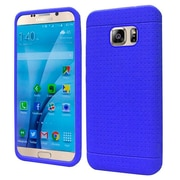 Insten Rugged Gel Rubber Cover Case For Samsung Galaxy S7 - Blue