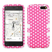 Insten Dots/White TUFF Hybrid Rugged Hard Shockproof Phone Case For Amazon Fire Phone