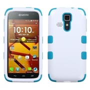 Insten Ivory White/Tropical Teal TUFF Hybrid Rugged Hard Shockproof Case For Kyocera Hydro Life C6530
