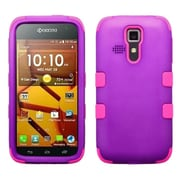 Insten Grape/Electric Pink TUFF Hybrid Rugged Hard Shockproof Case For Kyocera Hydro Life C6530 Icon 6730
