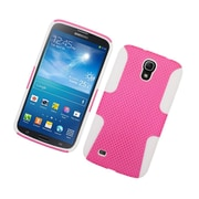 """Insten TPU Rubber Hard PC Candy Skin Mesh Case Cover For Samsung Galaxy Mega 6.3"""" GT-I9200 - Hot Pink/White"""