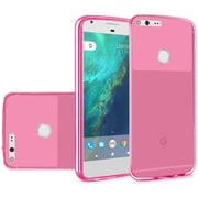 Insten Frosted TPU Case For Google Pixel XL - Hot Pink